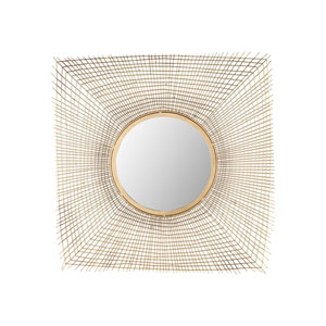 Zakros Gold Wall Mirror