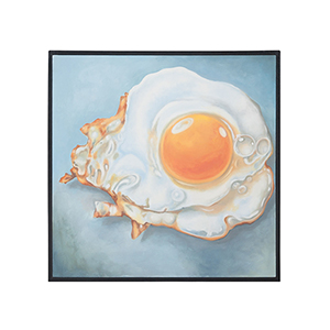 Handpainted Sunny Side Up Wall Art