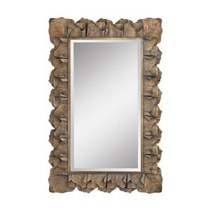 Cheltenham Aged Gold Leaf Mirror