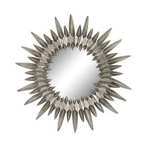 Sunburst Aged Silver Mirror