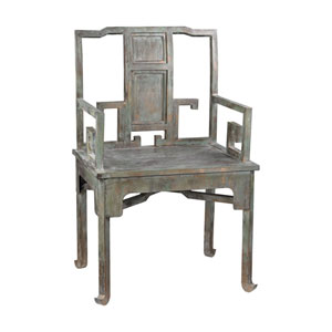 Tang Aged Metal Chair