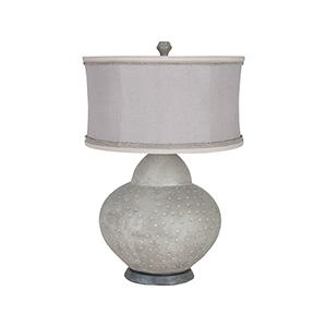 Terracotta Concrete One-Light Gourd Lamp