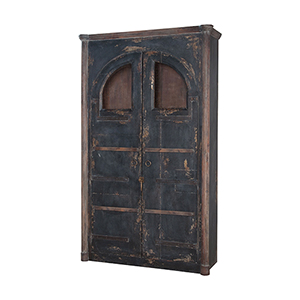 Farmhouse Natural Aged Stain Rustic Armoire