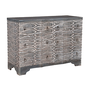 Waterfront Grey Stain Chest