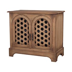 Honeycomb Honey Oak Sideboard