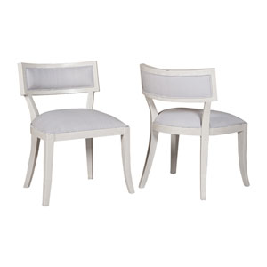 Newport White Dining Chairs - Set of 2