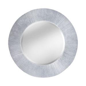 Attra Bright Silver 32-Inch Round Mirror