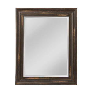 Edison Distressed Bronze 31 x 38-Inch Rectangle Mirror