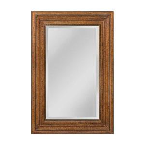 Barnett Crackeled Bronze 35 x 47-Inch Rectangle Mirror