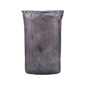 Maya Textured Gray Vase