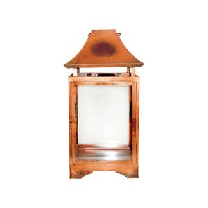 Bali Burned Copper Twenty-Inch Lantern