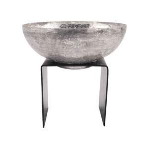 Equis Rustic and Antique Silver Bowl