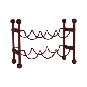Mission Montana Rustic Six Bottle Wine Rack