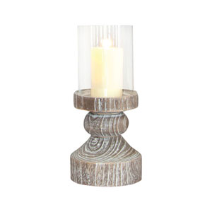 Monticello Ashwood Nineteen-Inch Mantle Candle Holder