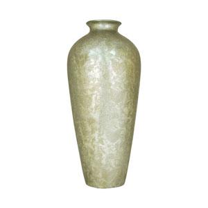 Virginia Embellished Silver 28-inch Vase