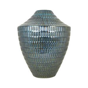Malaya Textured Denim Vase
