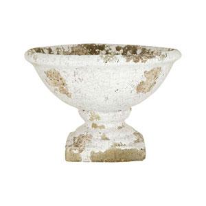Castleton Antique White Crackle Bowl
