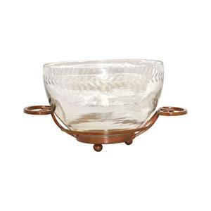 Burnham Burned Copper Fourteen-Inch Bowl