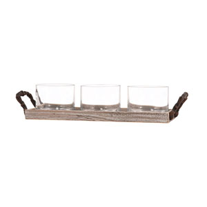 Campagne Rustic and Ashwood Tidbit Tray