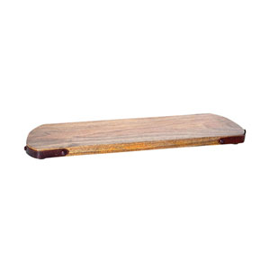 Telluride Montana Rustic and Mango Wood Nine-Inch Tray