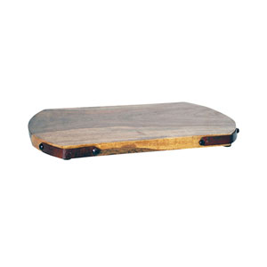 Telluride Montana Rustic and Mango Wood Twelve-Inch Tray