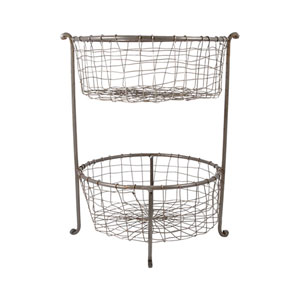 Rockwell Natural Double Basket