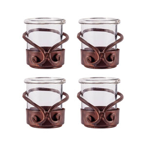 Lasso Montana Rustic Three-Inch Candle Holder