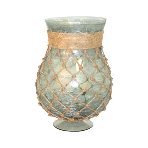 Pescador Azure 13-Inch Candle Holder