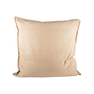 Chambray Sand Throw Pillow