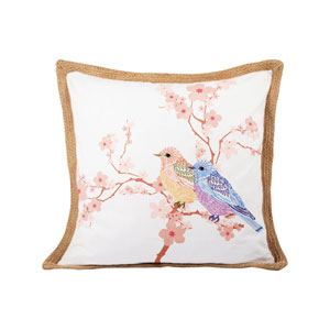 Glenwick Mauves and Ivory Throw Pillow