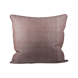 Chambray Earth Throw Pillow