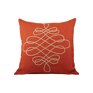 Vaquero Ochre Throw Pillow