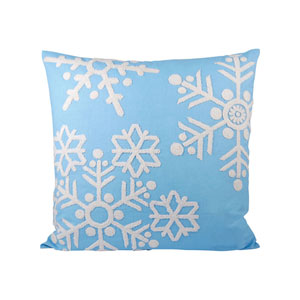 Malibu Frosted Capri Throw Pillow