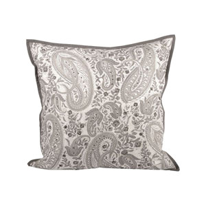 Paisley Chateau Graye Throw Pillow