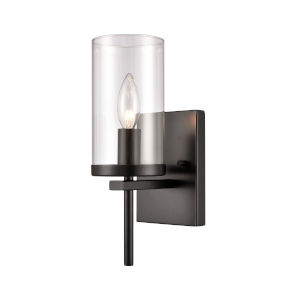 Oakland Black One-Light Wall Sconce