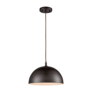 Chelsea Brown Oil Rubbed Bronze 12-Inch One-Light Pendant