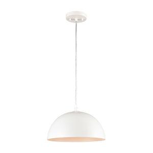 Chelsea White 12-Inch One-Light Pendant