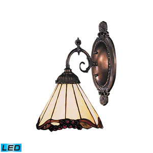 Mix-N-Match Tiffany Bronze 4.5-Inch LED One Light Wall Sconce