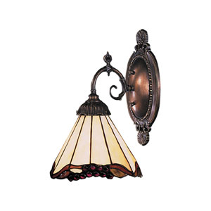 Mix-N-Match Tiffany Bronze 4.5-Inch One Light Wall Sconce