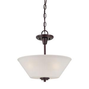 Pittman Sienna Bronze Two-Light Pendant