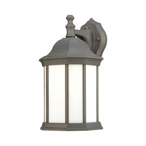 Hawthorne Painted Bronze Fluorescent Outdoor Wall Sconce