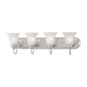 Homestead Satin Pewter Four-Light Wall Sconce