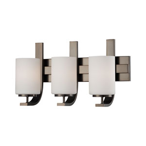 Pendenza Oiled Bronze Three-Light Wall Sconce