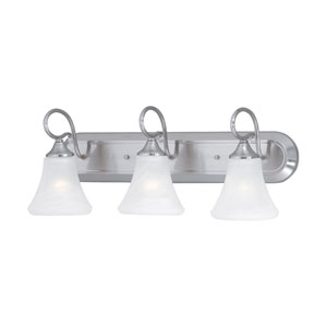 Elipse Brushed Nickel Three-Light Wall Sconce