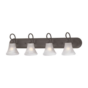 Elipse Painted Bronze Four-Light Wall Sconce