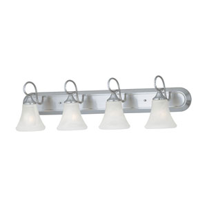 Elipse Brushed Nickel Four-Light Wall Sconce