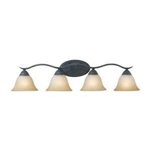 Prestige Sable Bronze Four-Light Wall Sconce