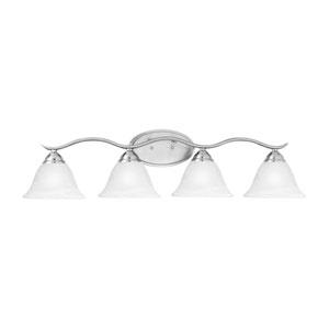 Prestige Brushed Nickel Four-Light Wall Sconce