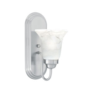 Homestead Brushed Nickel Wall Sconce