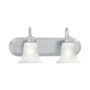 Homestead Brushed Nickel Two-Light Wall Sconce